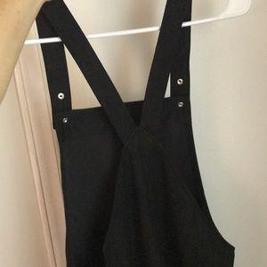 Forever 21 Dresses - NWT suede black jumper dress